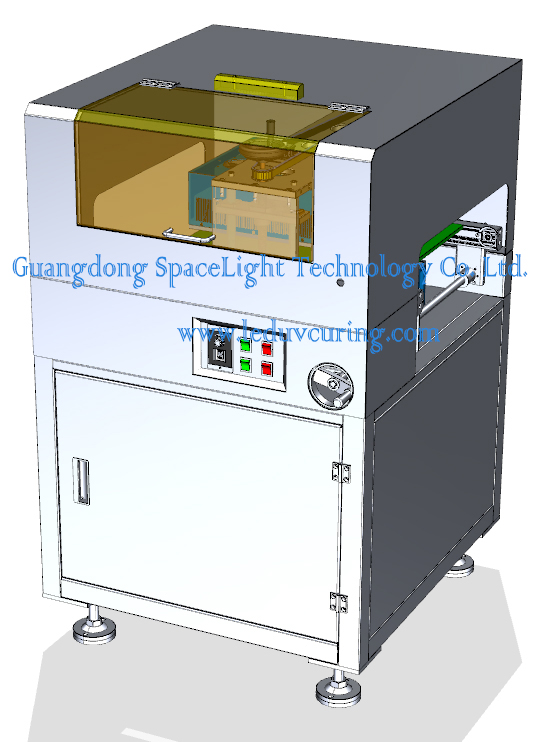 High Quality UV Curing Conveyor Systems Curing UV Glue Bonding Screen Suppliers