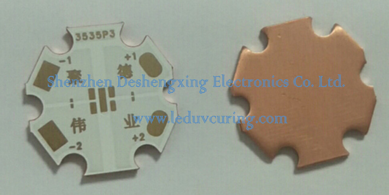 LED Printed Circuit Board for Ultraviolet LED Light Beads