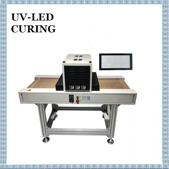 400X200mm Portable High Efficiency UV-LED-Maschine für die Beschichtung