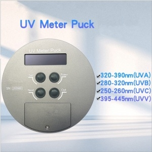 Four Channels UV Meter Puck